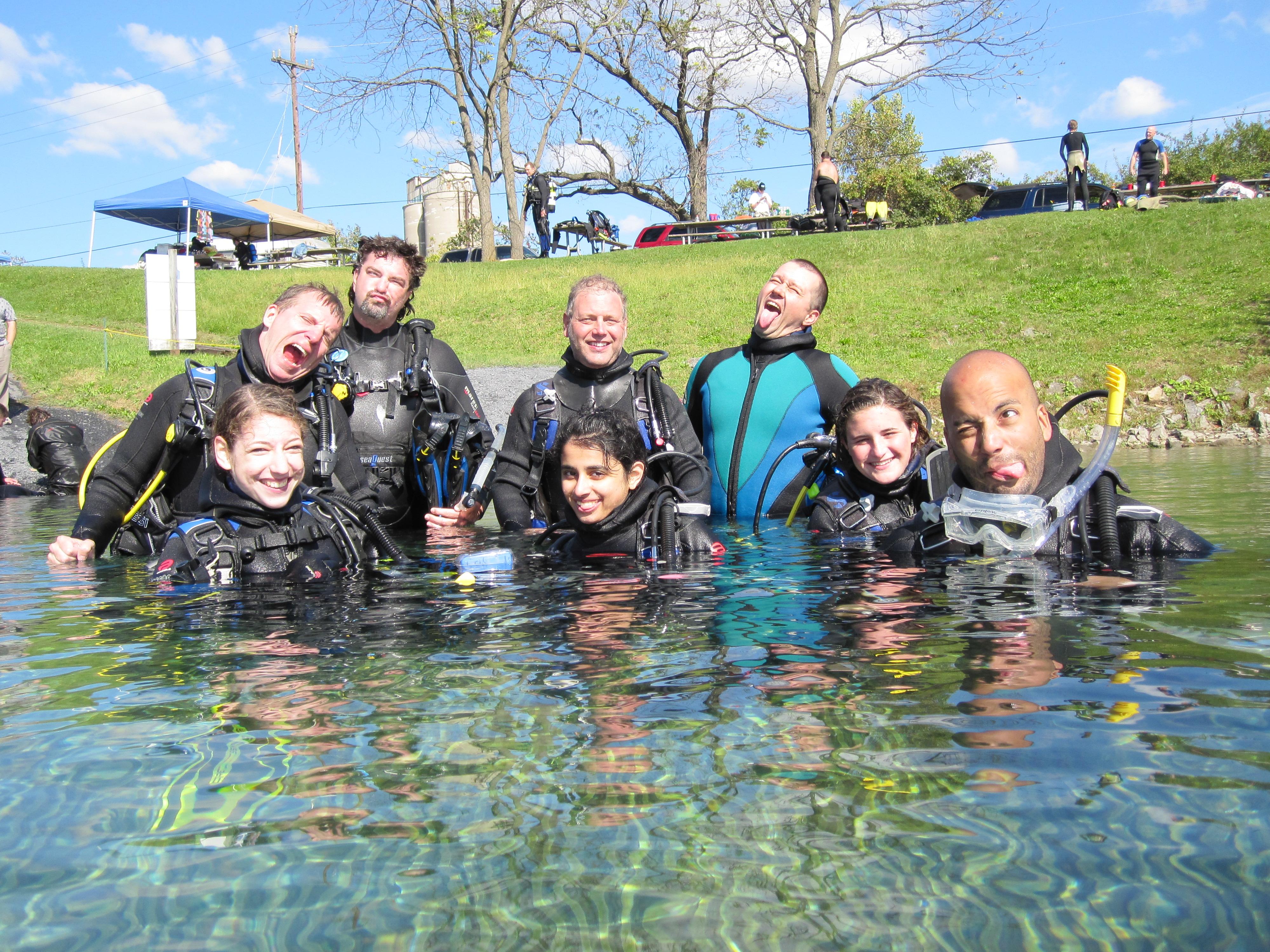 Open Water Certification Nj Scuba Dive Lessons