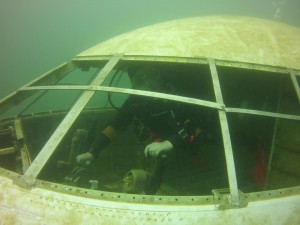Scenes from our dive to the new plane at Dutch Springs
